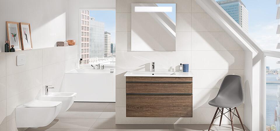 Bad mit Dachschräge - Raum clever nutzen - Villeroy & Boch