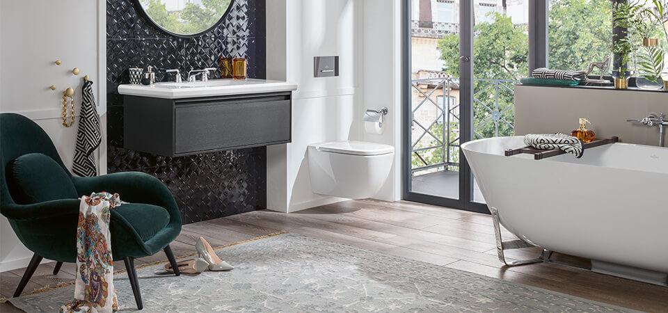 Ein Badezimmer Ist Längst Nicht Mehr Nur Ein Zweckmäßiger Raum, Sondern Ein  Ort Der Entspannung. Vor Allem In Einem Wohnbad Fällt Das Wohlfühlen  Besonders ...