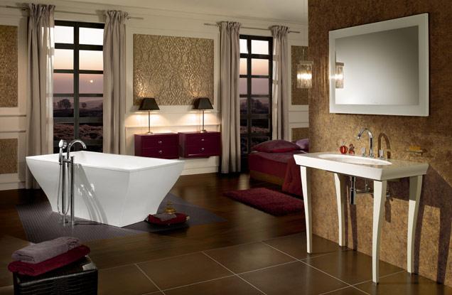 Großes bad stilsicher gestalten   villeroy & boch