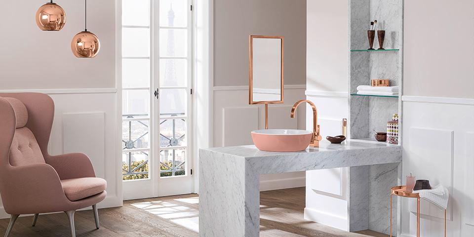 Farbgestaltung im badezimmer mit villeroy boch - Kleur wc trend ...