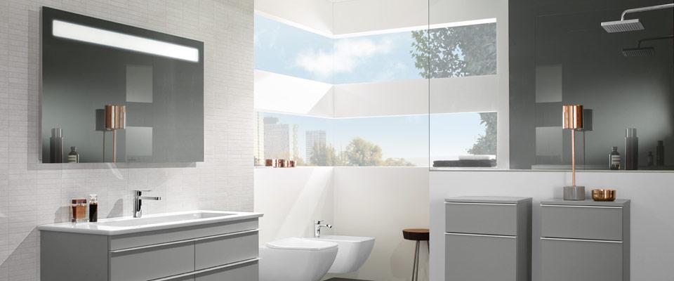 Licht im badezimmer   villeroy & boch