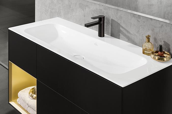 finion design und raffinierte beleuchtung villeroy boch. Black Bedroom Furniture Sets. Home Design Ideas