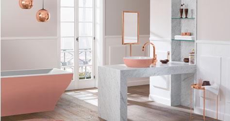kollektion la belle von villeroy boch die neue sinnlichkeit. Black Bedroom Furniture Sets. Home Design Ideas