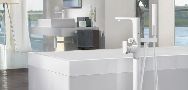 Badewannenarmaturen  Badewannenarmatur von Villeroy & Boch - puristisches Design