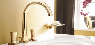 Waschtischarmatur von Villeroy & Boch - moderne Formen