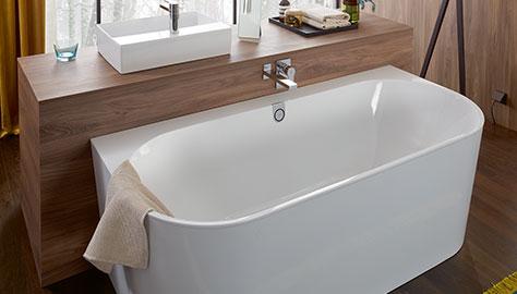 Villeroy & Boch Rechteck-Badewanne O.Novo 160 cm x 70 cm Weiß Alpin