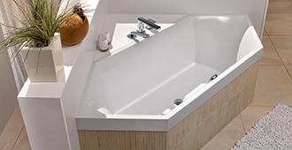 Sechseck badewanne einbauen  Badewannen - Stilvolle Entspannung - Villeroy & Boch