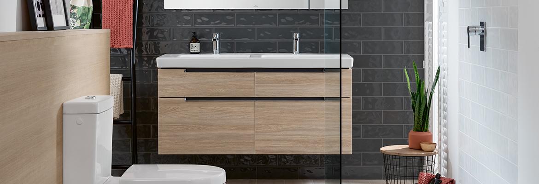 Waschbeckenunterschränke: Markenqualität Villeroy & Boch