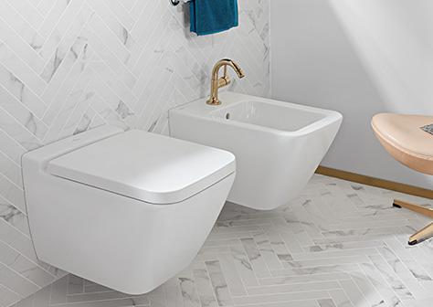 toiletten im edlen design villeroy. Black Bedroom Furniture Sets. Home Design Ideas