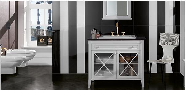 bathroom poetry kaviar gauche meets villeroy boch hommage. Black Bedroom Furniture Sets. Home Design Ideas