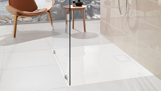 architectura metalrim ultraflaches dusch design villeroy boch. Black Bedroom Furniture Sets. Home Design Ideas