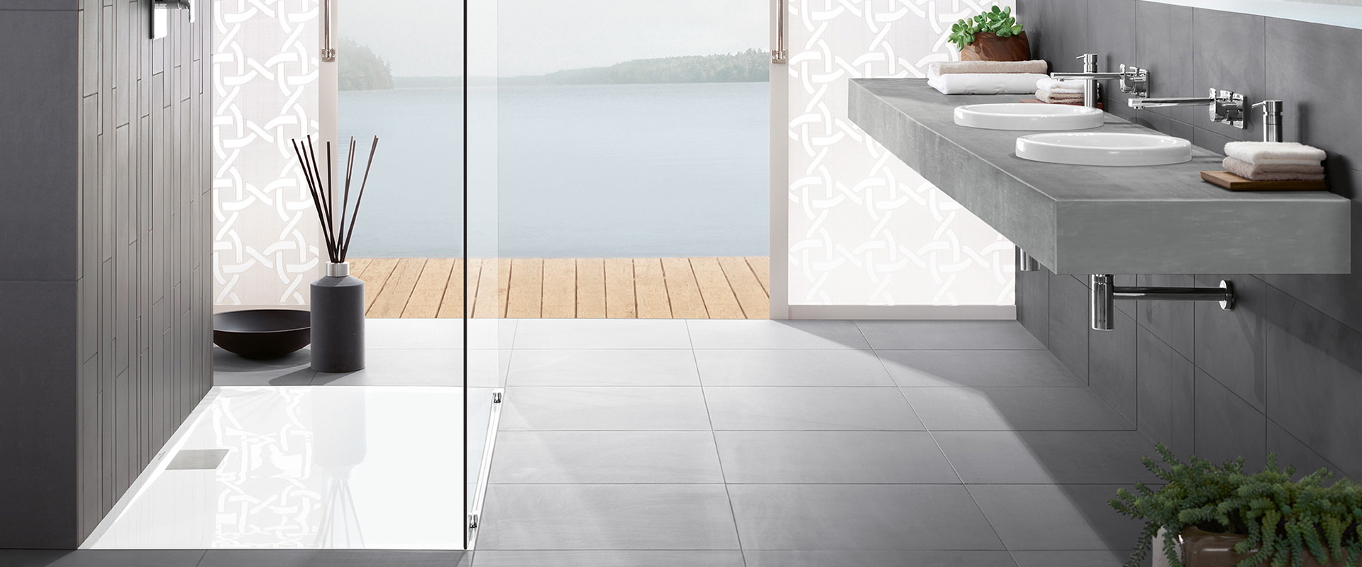 architectura metalrim ultraflaches dusch design. Black Bedroom Furniture Sets. Home Design Ideas