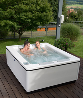 Outdoor-Whirlpool Just Silence Compact Villeroy & Boch