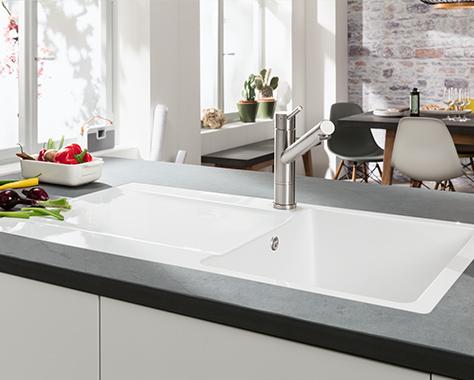 villeroy boch siluet 50 keramiksp le f r 50 cm unterschrank nordsee k chen. Black Bedroom Furniture Sets. Home Design Ideas