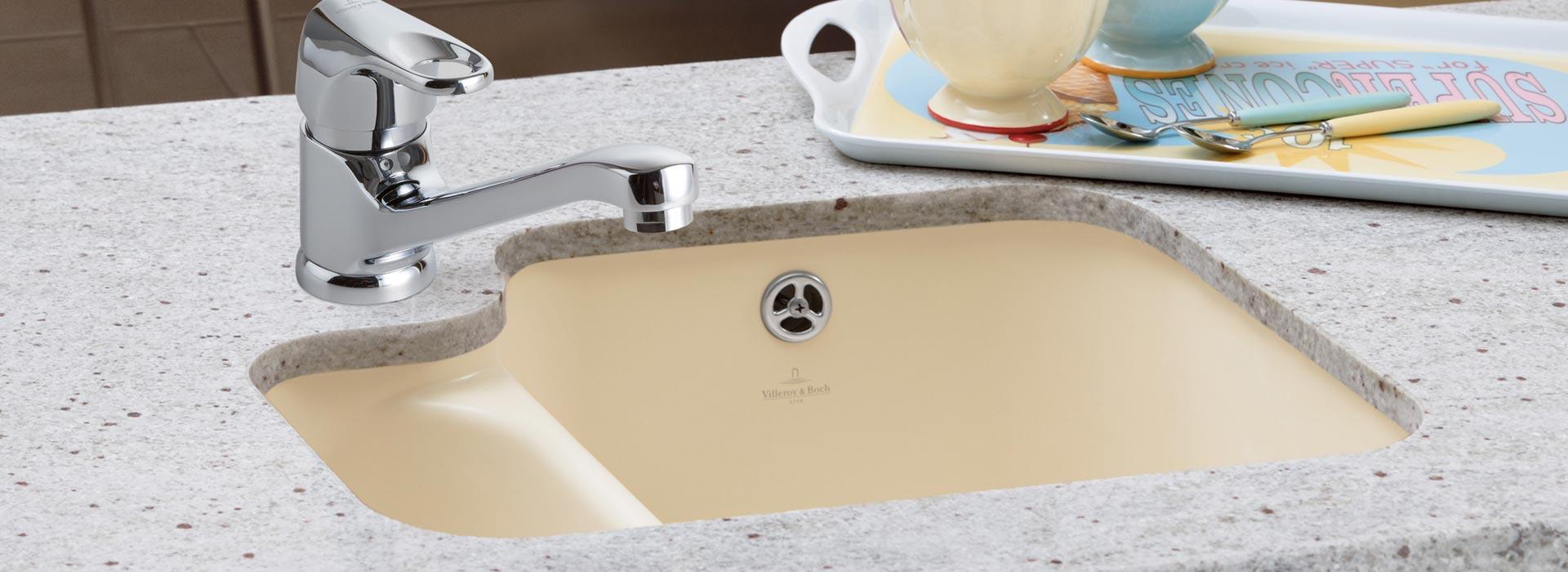 Unterbauspüle in Premium-Qualität von Villeroy & Boch