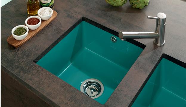 Keramikspülen für mehr Farbvielfalt in der Küchengestaltung