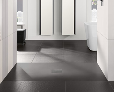 duschen von villeroy boch. Black Bedroom Furniture Sets. Home Design Ideas