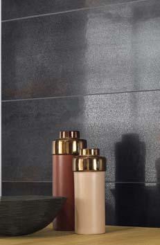 Metallic Illusion Serienseite - Fliesen in rostoptik