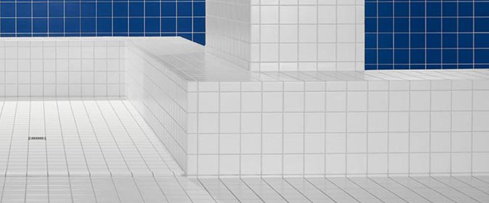 Pro Architectura Serienseite - Weiße fliesen 10x10