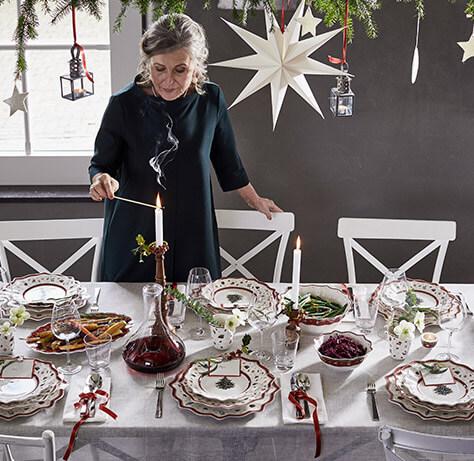 Moderne Und Traditionelle Weihnachtstische Von Villeroy Boch