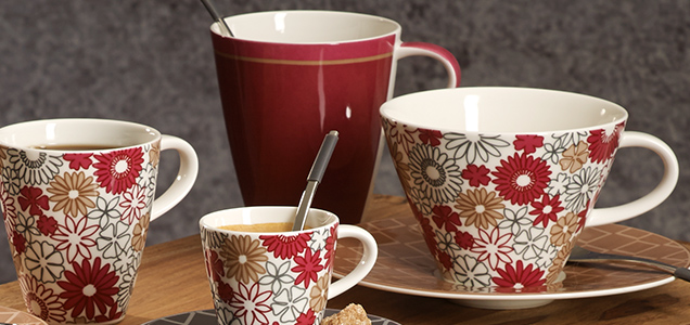 caff club fiori einzigartiger kaffeegenuss villeroy boch. Black Bedroom Furniture Sets. Home Design Ideas