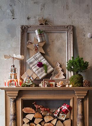Weihnachtliche dekoration von villeroy boch for Dekoration wohnung weihnachten