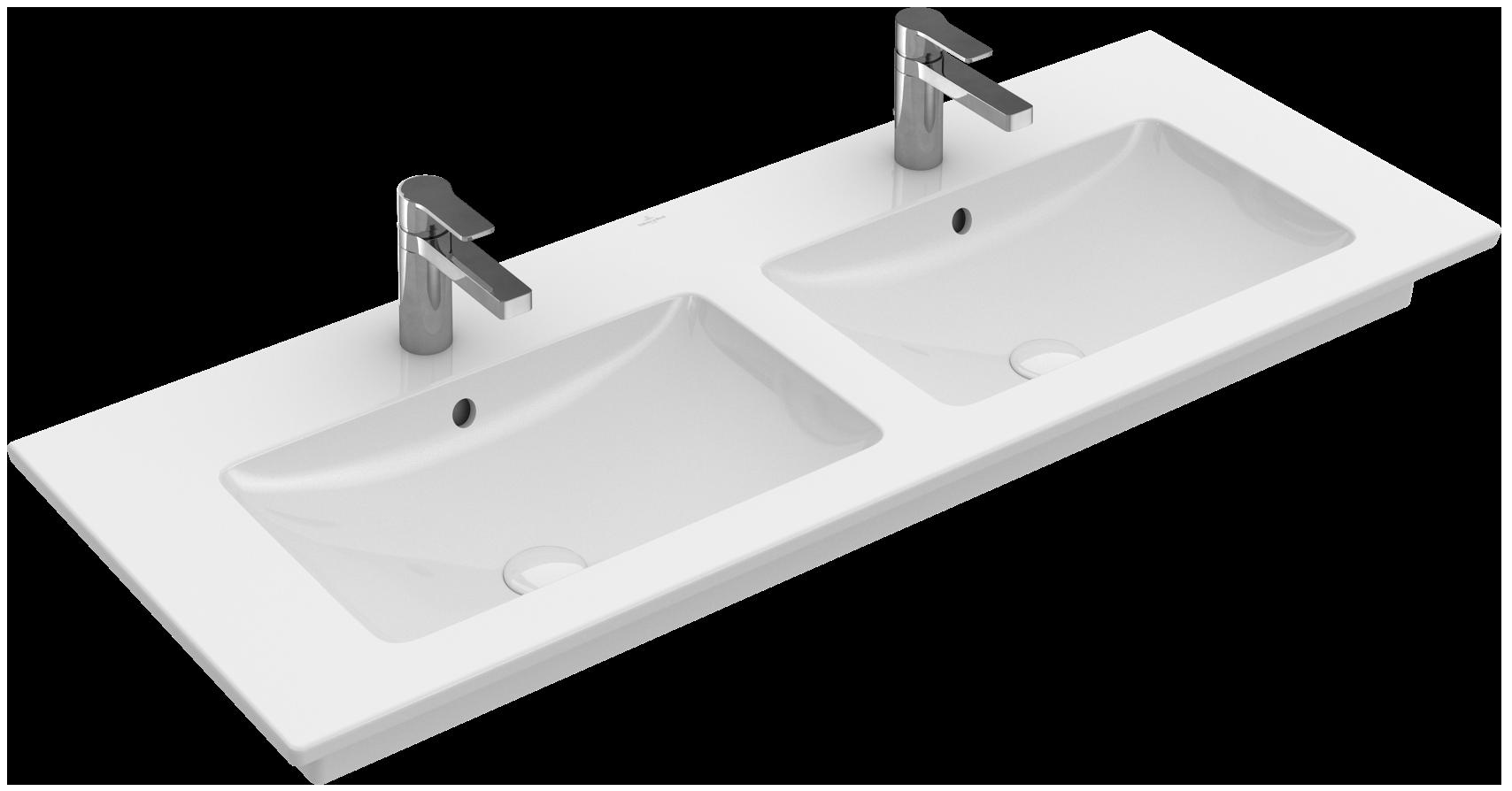 Doppelwaschtisch  Venticello Schrank-Doppelwaschtisch Eckig 4111DG - Villeroy & Boch