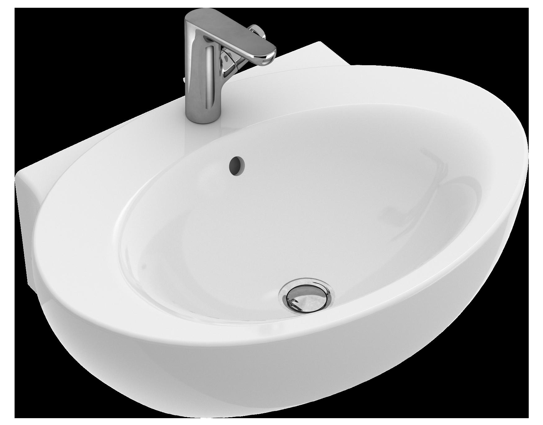 Aufsatzwaschbecken oval mit hahnloch  Aveo New Generation Waschtisch Oval 41307H - Villeroy & Boch