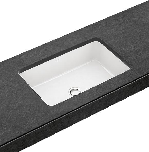 architectura unterbauwaschtisch eckig 417760 villeroy boch. Black Bedroom Furniture Sets. Home Design Ideas