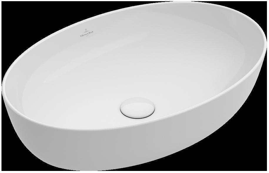 Doppelwaschbecken oval  Artis Aufsatzwaschtisch Oval 419861 - Villeroy & Boch