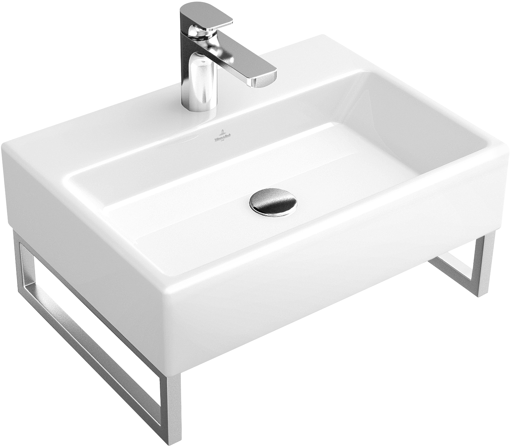 memento waschtisch eckig 513353 villeroy boch. Black Bedroom Furniture Sets. Home Design Ideas