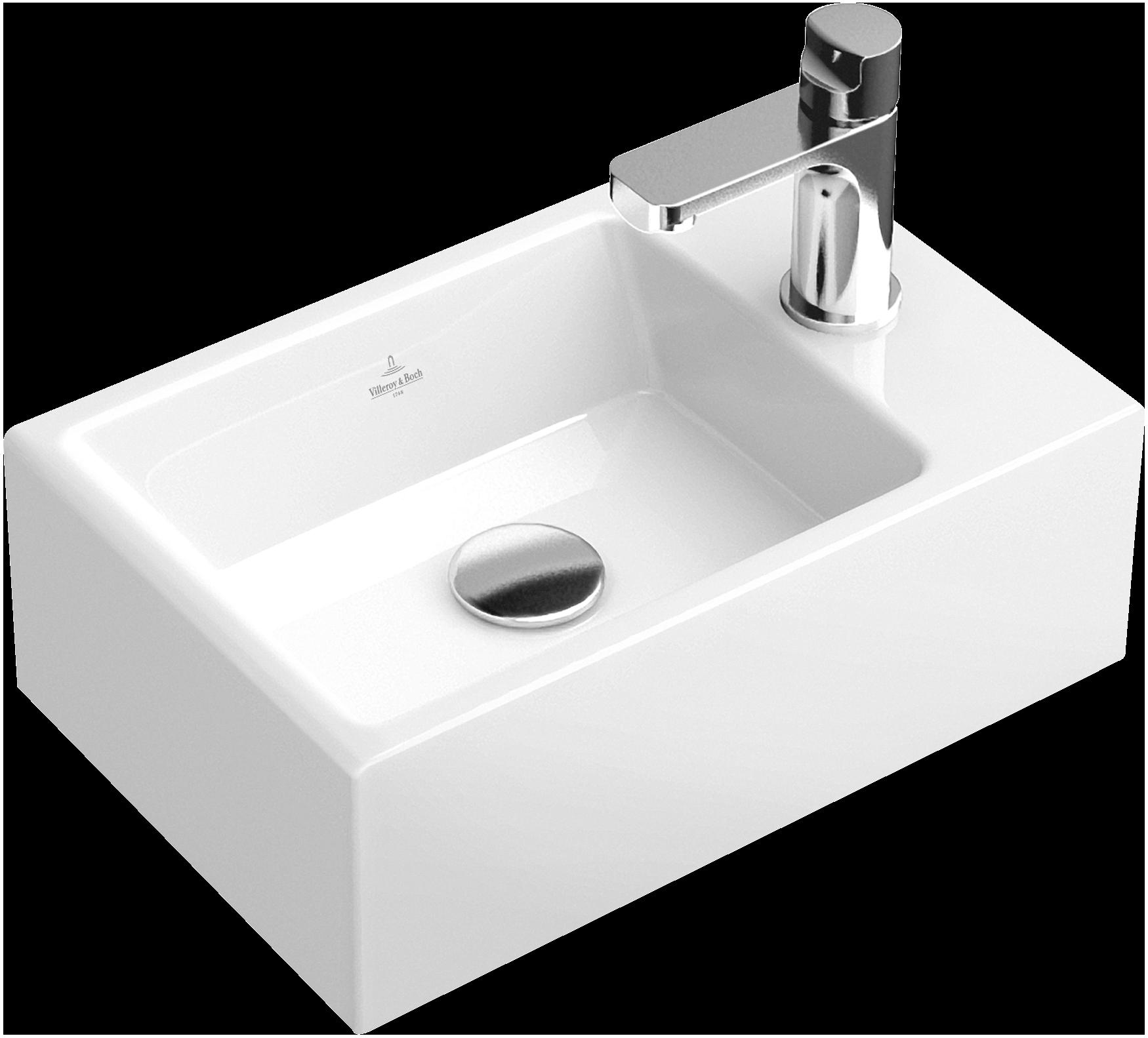 Handwaschbecken eckig