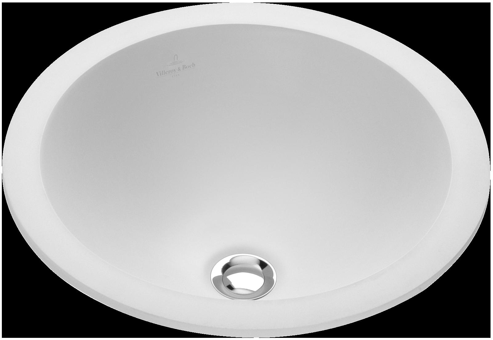 Waschbecken rund einbau  Loop & Friends Einbauwaschtisch Rund 614039 - Villeroy & Boch
