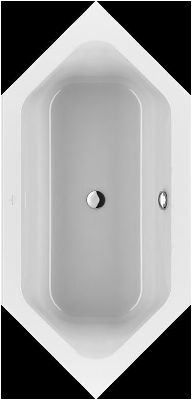 Loop & Friends Badewanne Sechseck UBA199LFS6V - Villeroy & Boch | {Sechseck badewanne maße 79}